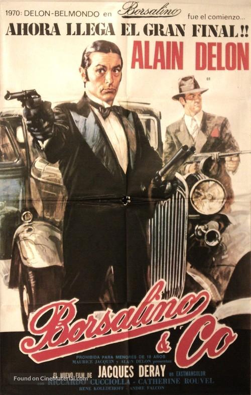 Borsalino and Co. - Spanish Movie Poster