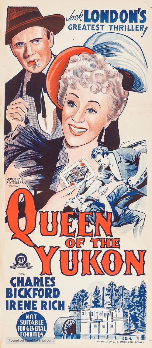 Queen of the Yukon - Australian Movie Poster