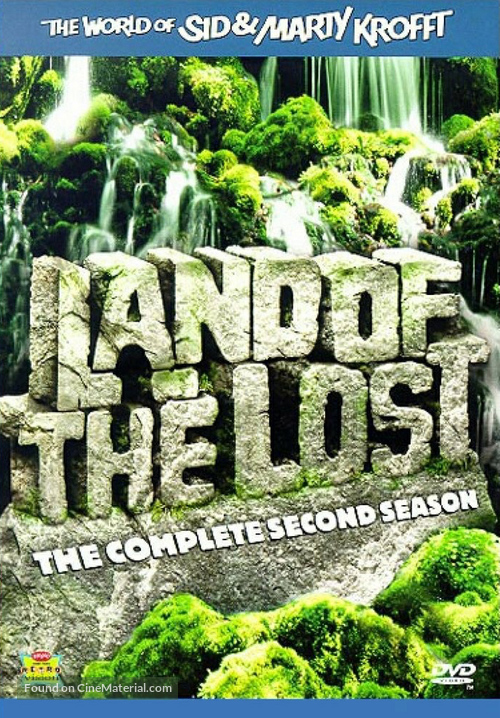 """Land of the Lost"" - DVD movie cover"