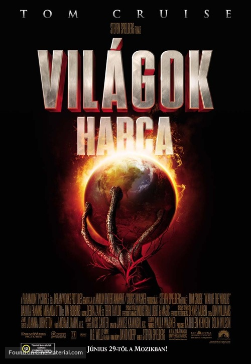War of the Worlds - Hungarian Movie Poster
