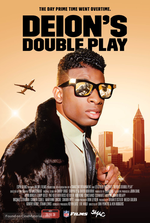 """""""30 for 30"""" Deion's Double Play - Movie Poster"""