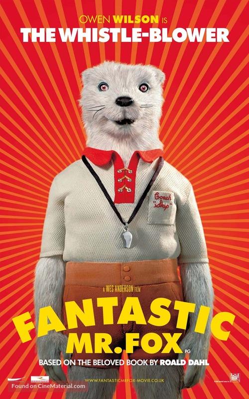 Fantastic Mr Fox 2009 British Movie Poster