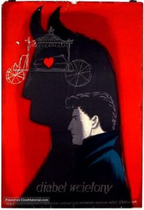 Le diable au corps - Polish Movie Poster