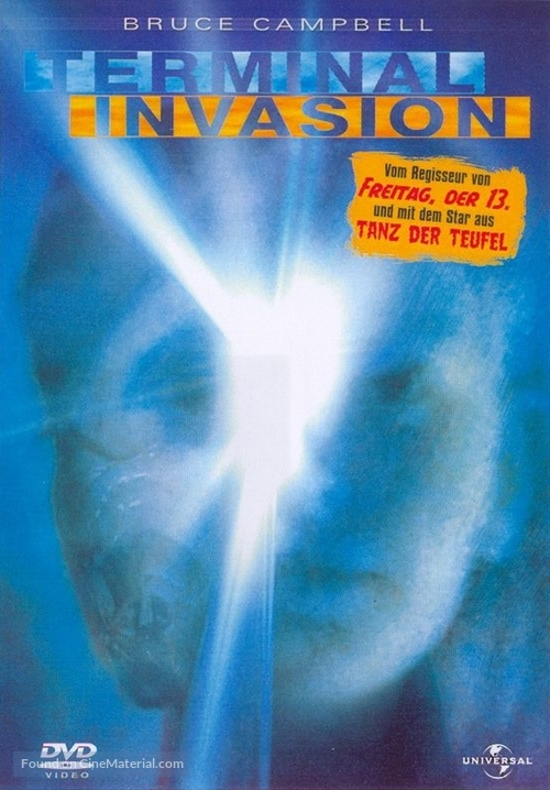 Terminal Invasion - German DVD movie cover