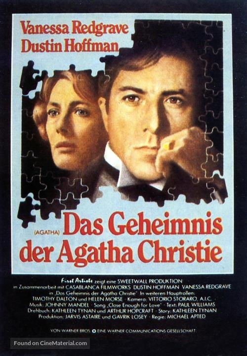 Agatha - German Movie Poster