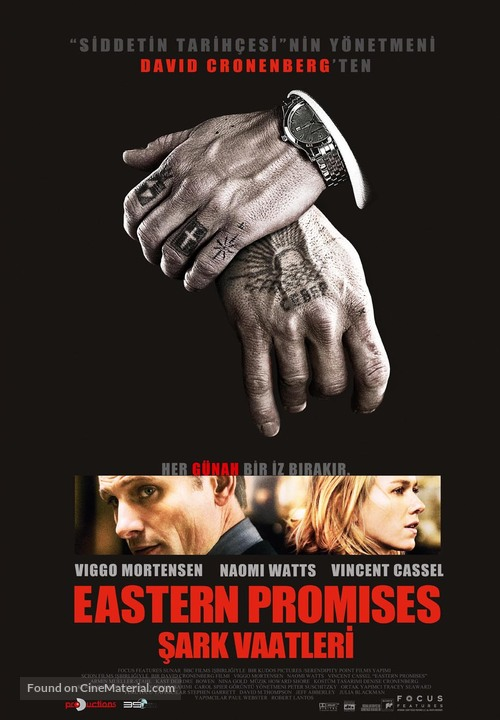 Eastern Promises - Turkish Movie Poster