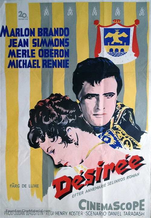 Desirée - Swedish Movie Poster