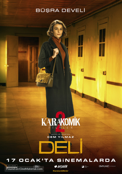 Karakomik Filmler: Deli - Turkish Movie Poster