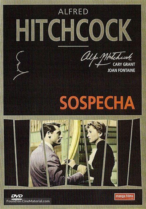 Suspicion - Spanish DVD movie cover