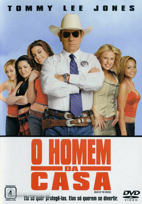 Man Of The House - Portuguese Movie Cover
