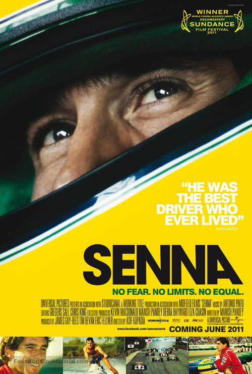 Senna - British Movie Poster