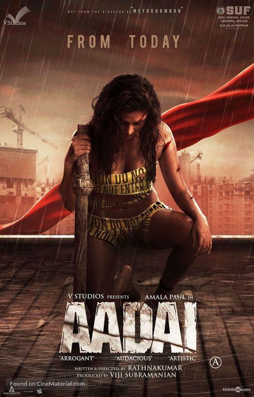Aadai - Movie Poster