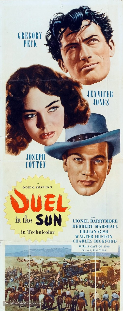Duel in the Sun - Movie Poster