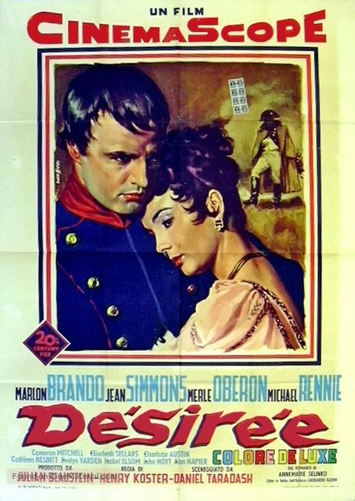 Desirée - Italian Movie Poster