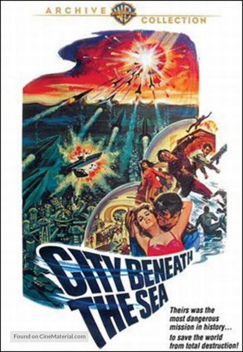 City Beneath the Sea - DVD movie cover