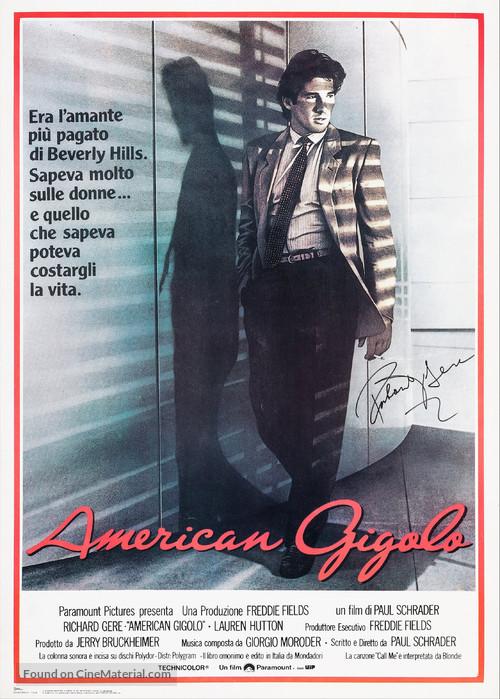 American Gigolo - Italian Movie Poster