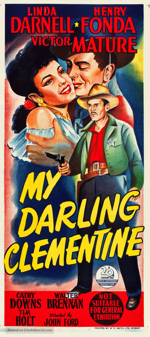 a review of my darling clementine a movie by john ford