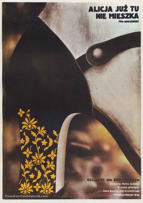 Alice Doesn't Live Here Anymore - Polish Movie Poster