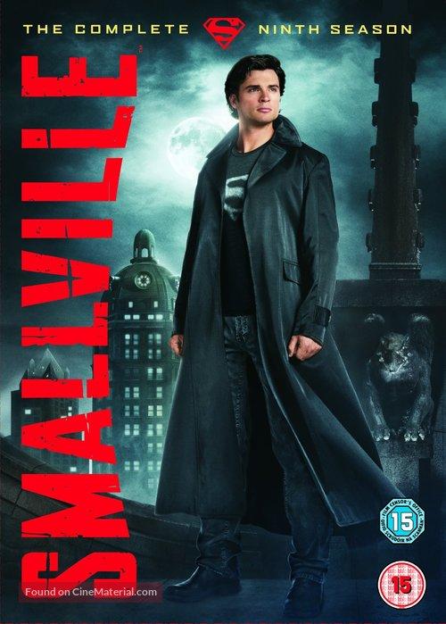"""""""Smallville"""" - British DVD movie cover"""