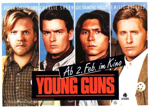 Young Guns - German Movie Poster