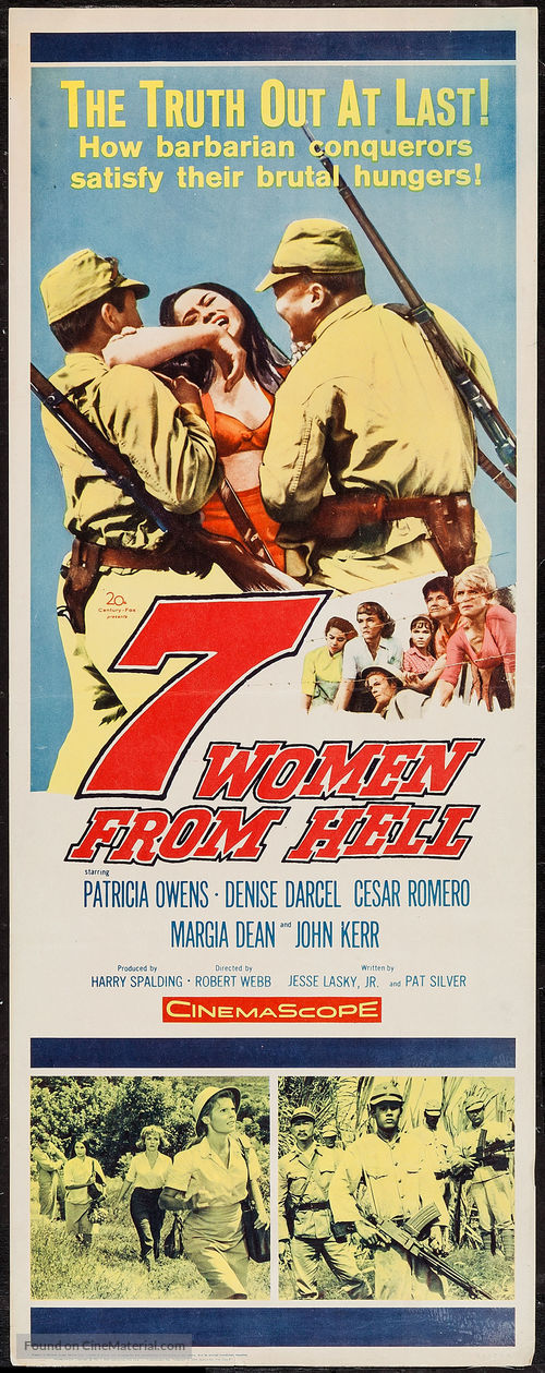 The Seven Women from Hell - Movie Poster