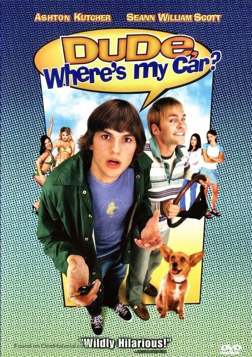 Dude, Where's My Car? - DVD movie cover