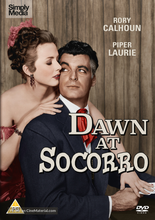 Dawn at Socorro - British DVD cover