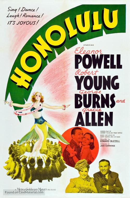 Honolulu - Movie Poster