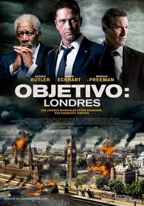 London Has Fallen - Spanish Movie Poster