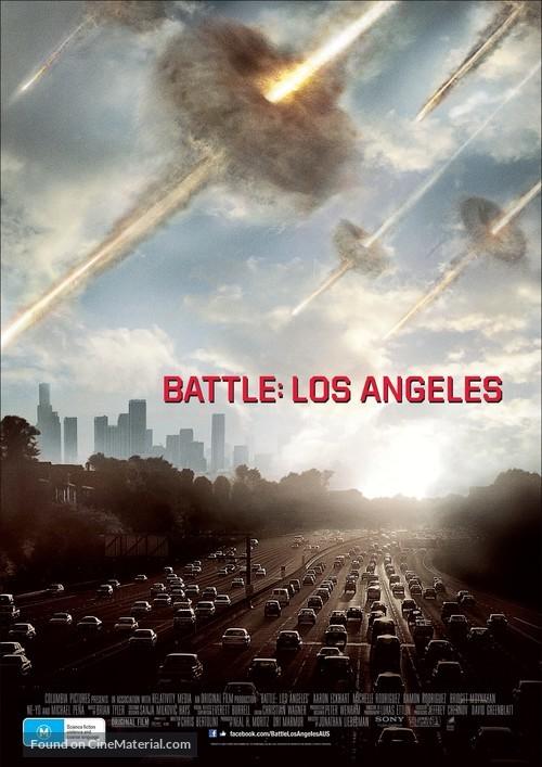 Battle: Los Angeles - Australian Movie Poster