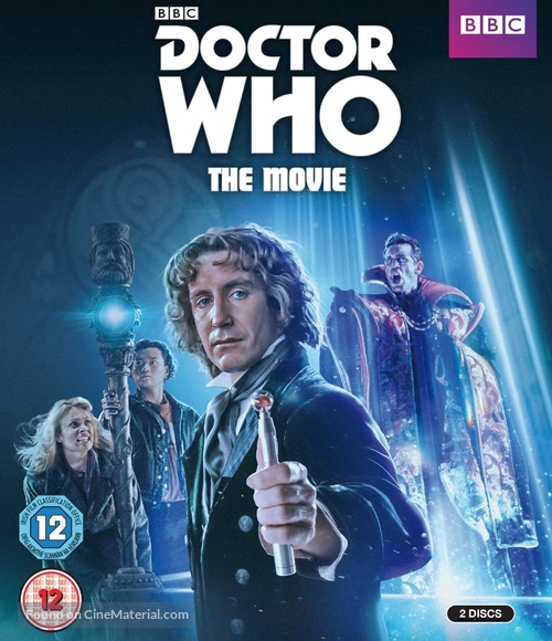 Doctor Who - British Movie Cover