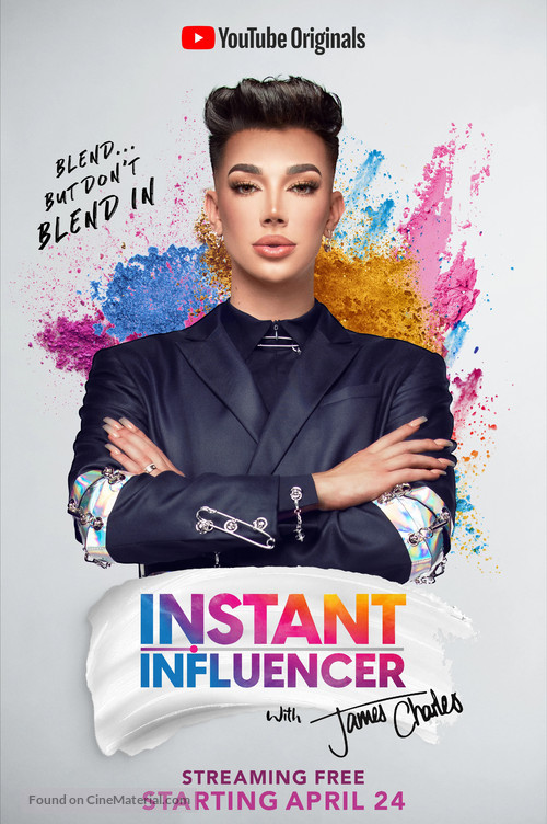 """Instant Influencer with James Charles"" - Movie Poster"