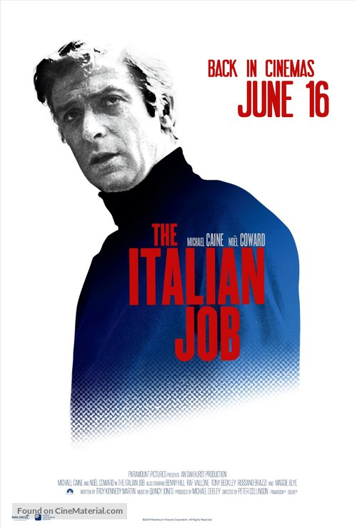 The Italian Job - British Movie Poster