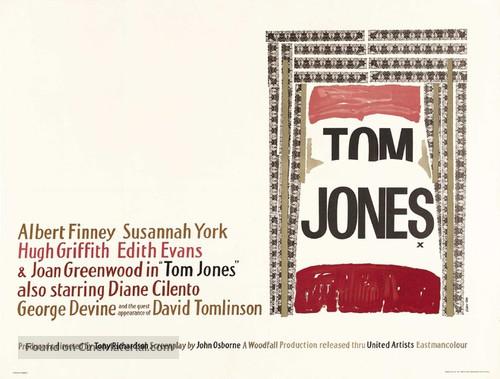 Tom Jones - British Movie Poster