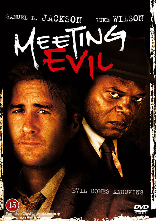 Meeting Evil - Danish DVD movie cover