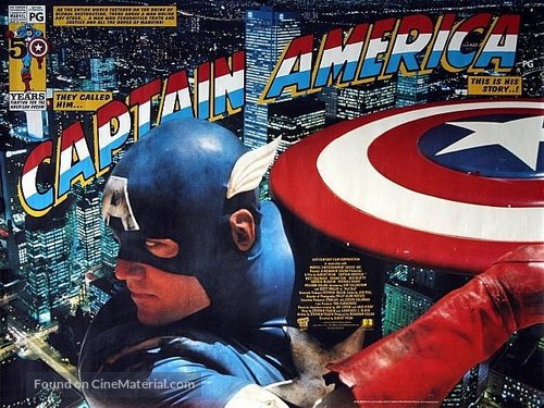 Captain America - British Movie Poster