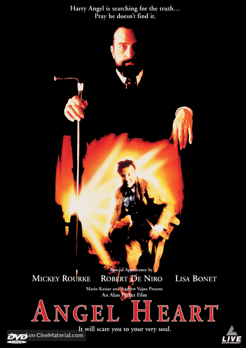 Angel Heart - DVD movie cover