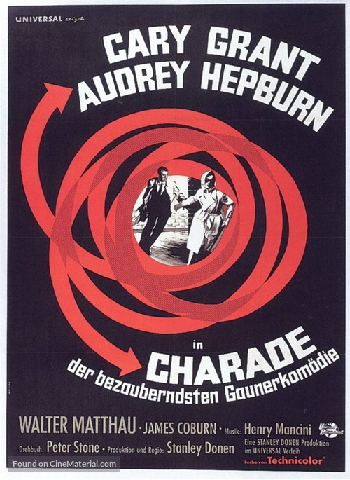 Charade - German Movie Poster