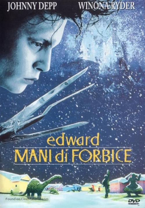 Edward Scissorhands - Italian Movie Cover