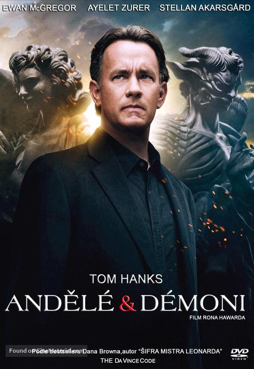 Angels & Demons - Czech DVD movie cover