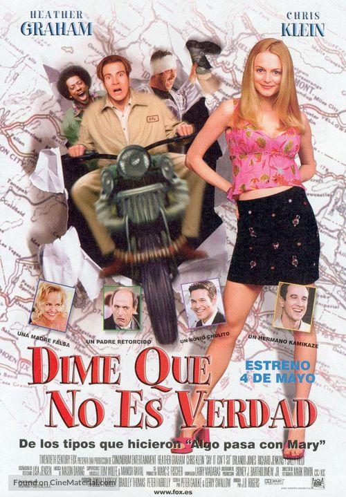 Say It Isn't So - Spanish Movie Poster