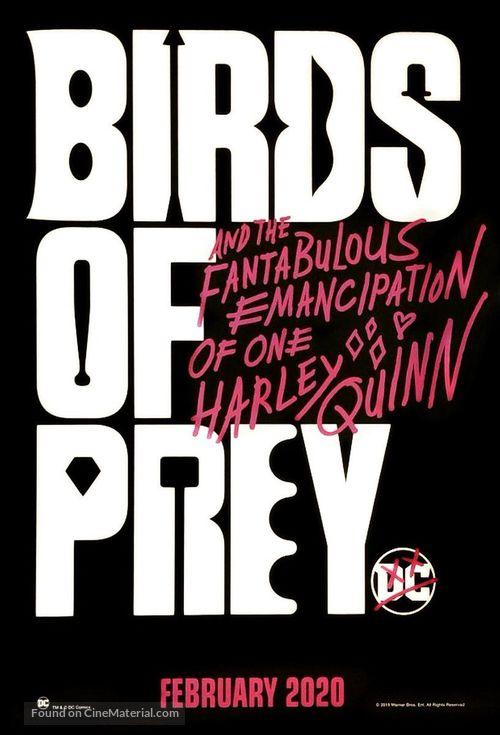 Harley Quinn: Birds of Prey - Logo