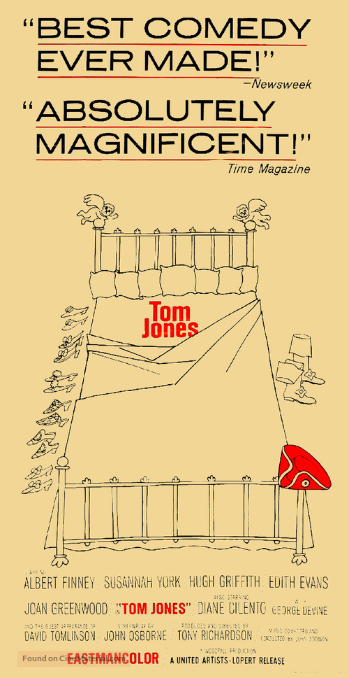 Tom Jones - Movie Poster