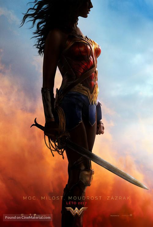 Wonder Woman - Czech Movie Poster