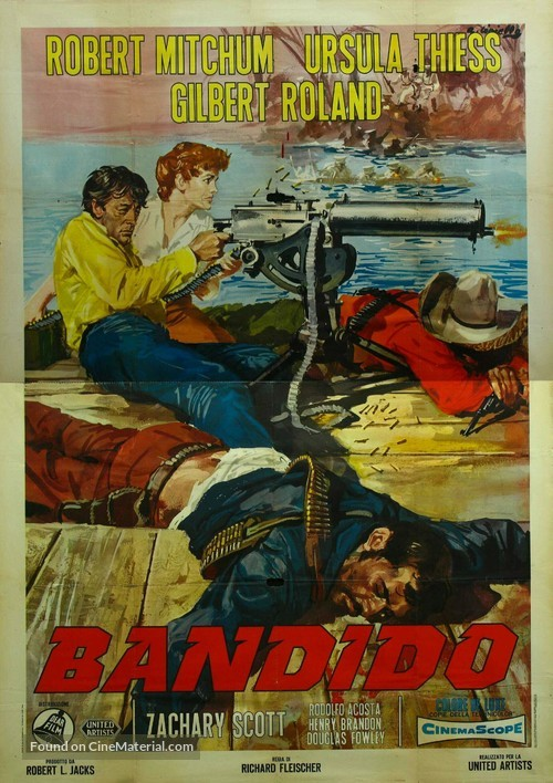 Bandido - Italian Movie Poster