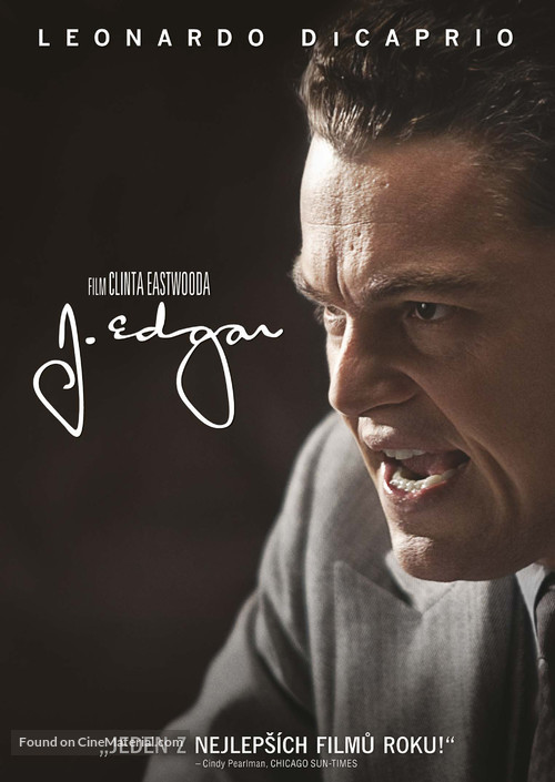 J. Edgar - Czech DVD movie cover