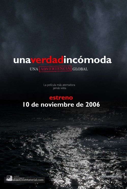 An Inconvenient Truth - Spanish Movie Poster