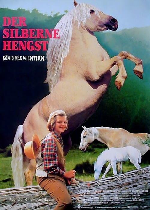 The Silver Brumby - German Movie Poster