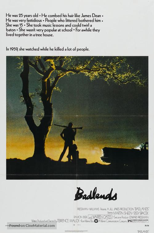 Badlands - Movie Poster