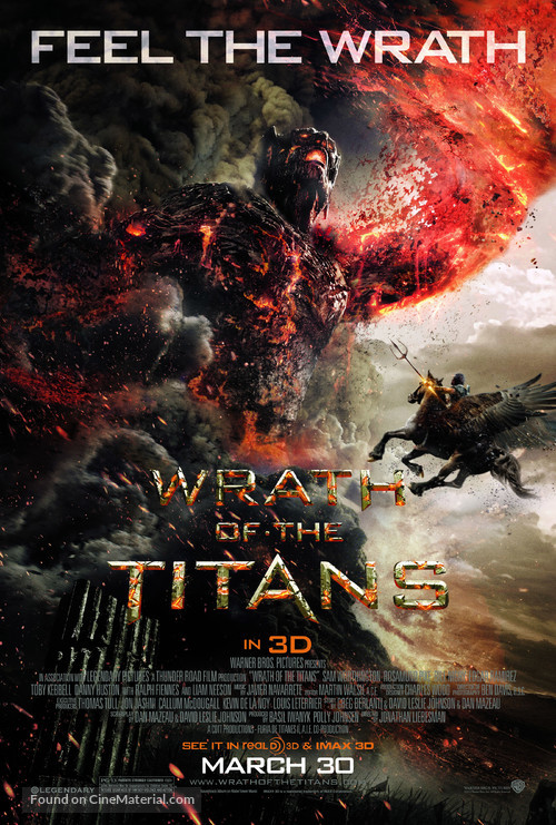 Wrath of the Titans - Movie Poster